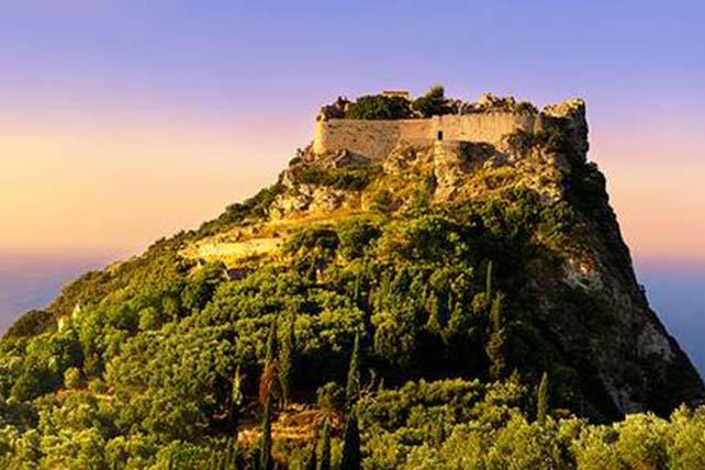 Angelokastro vár Korfu