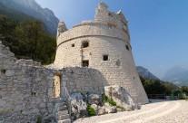 Bastione bástya Garda tó Olaszország