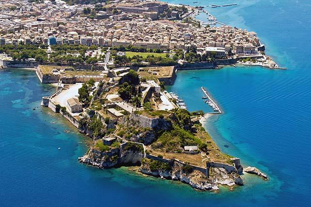 Belváros Korfu
