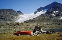 Kőoszlop Jotunheimen Nemzeti park