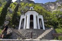 Santa Barbara kápolna Garda tó Olaszország