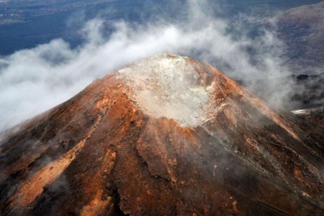 Teide vulkán kráter Tenerife