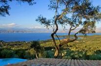 Tengerpart látkép Korfu