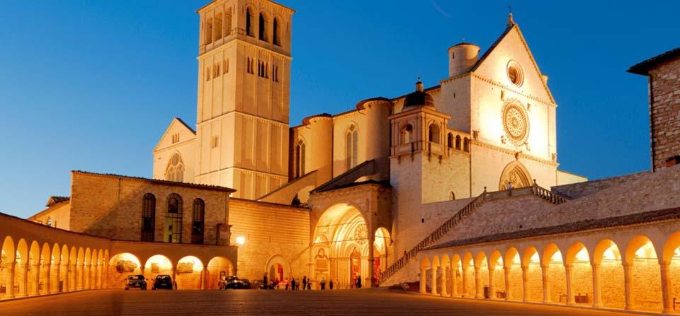 Assisi Szent Ferenc nyomában, Olaszország