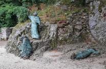 Zarándokút via Francigena di San Francesco eremo delle carceri kolostor-Olaszország