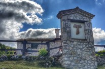 Zarándokút via Francigena di San Francesco Faggio tau-Olaszország